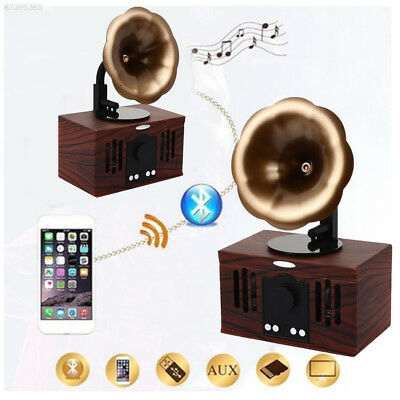 Retro Bluthtooth Speaker Sound Box Loudspeaker Hands-Free Call Stereo