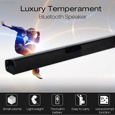 Soundbar FM Home Theater Music Player Support TF Voice Call Universal