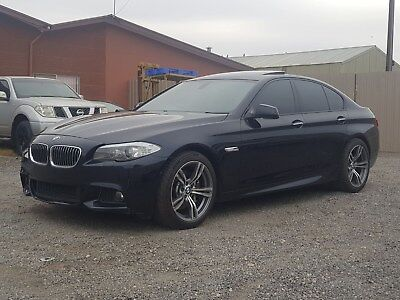 12/2011 BMW 535i F10 MY12 3.0T M SPORTS EXTRAS 92KM LIGHT DAMAGE REPAIRABLE