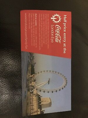 London Eye Voucher Half Price