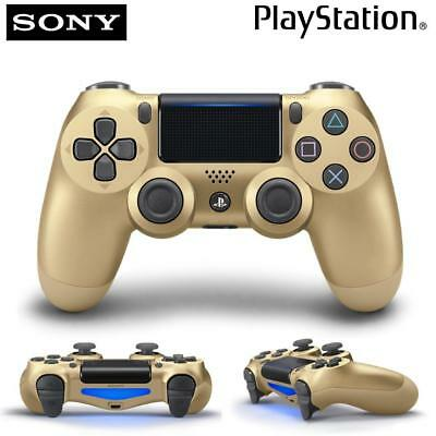 New Sony PlayStation 4 DualShock 4 Wireless PS4 Controller 3001818 Gold Gamepad