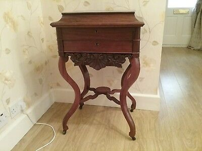 Antique sewing table/box
