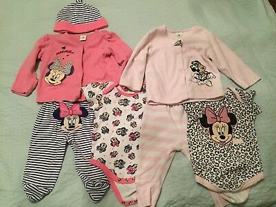 Disney Baby Minnie Mouse Pyjamas 3-6 Months