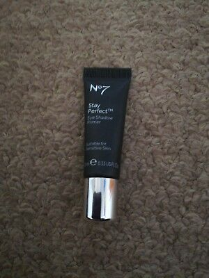 Boots No7 Stay Perfect Eye Shadow Primer - 10ml - Brand New - New - No Box