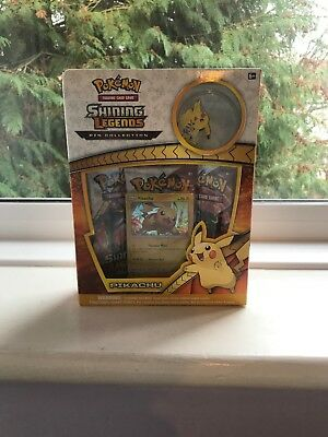 Pokemon Trading Card Game Shining Legends Pin Collection - Pikachu