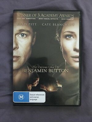 The Curious Case of Benjamin Button - DVD Movie Aus R4