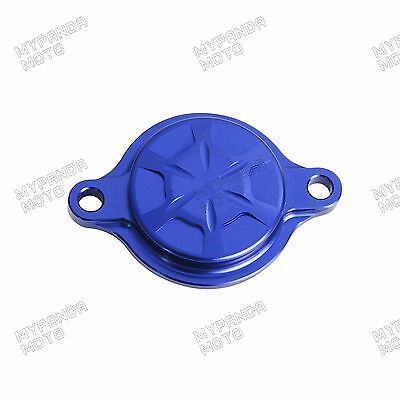 CNC Anodized Oil Filter Tank Cover for Yamaha YZ250F 14-18 WR250F YZ250FX 15-18