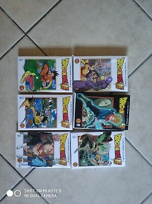 DRAGON BALL- SUPER- COMPLETA- N°1/6 + variant del 5 MANGA STAR COMICS-