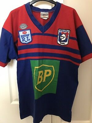 Newcastle Knights Retro Rugby League Shirt
