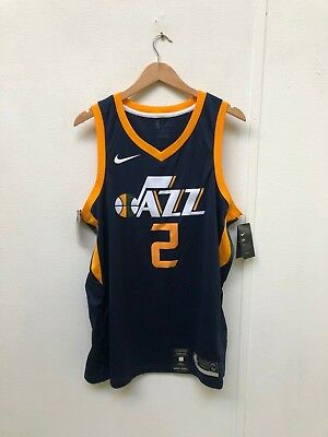 NIKE MEN S NBA Utah Jazz 2018 Away Jersey - Large - Ingles 2 - Navy ... 0d4df6ff1