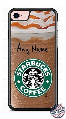 Starbucks Coffee Caramel Frappuccino Custom Phone Case for iPhone Samsung  etc