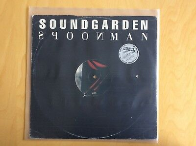"SOUNDGARDEN : Spoonman / 12"" Maxi Clear Vinyl 4 Trax Ltd. Ed."
