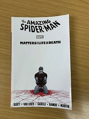 The Amazing Spider-Man Matters Of Life And Death Marvel Paperback TPB Dan Slott