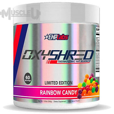 EHPlabs OxyShred RAINBOW CANDY - 60 Serves - Thermogenic EHP Labs Oxy Shred
