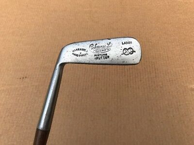 Nice Playable Cochrane Hickory Shafted Ladies Left Handed Putter