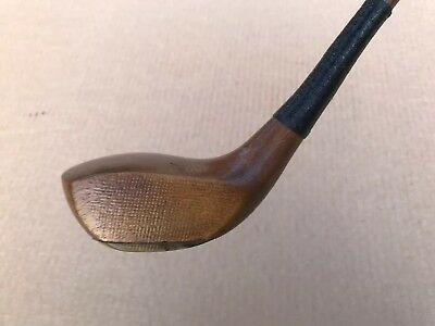 Tom Mounce Hickory Shafted Driver In Superb Playable Condition (D0)