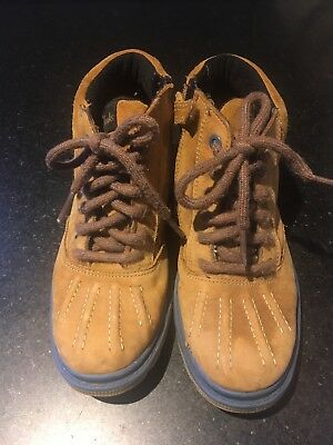 Clarks Childrens Gore-tex Boots Size 11.5F (UK Size)