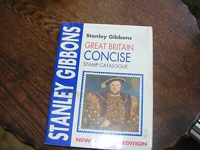 Stanley Gibbons Great Britain Concise  Stamp Catalogue 1997 Paper Back
