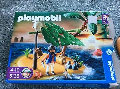 Playmobil 5138 Pirateninsel Schatzinsel plus Schildkröten