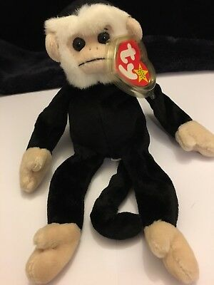 Ty Beanie Baby: Mooch The Spider Monkey. Perfect Condition. With Tag