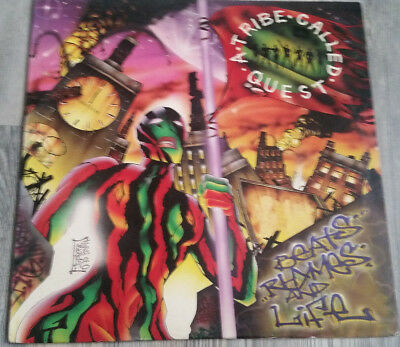 """A Tribe Called Quest """"beats Rhymes And Life"""" 2Lp Og Us 1996 Zomba Recordings"""