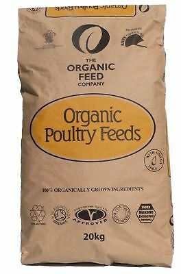 Allen & Page Organic Layers Pellets 20kg Poultry Feed Chicken Hens