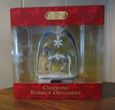 Breyer Christmas CELESTINE STIRRUP   ornament NEW