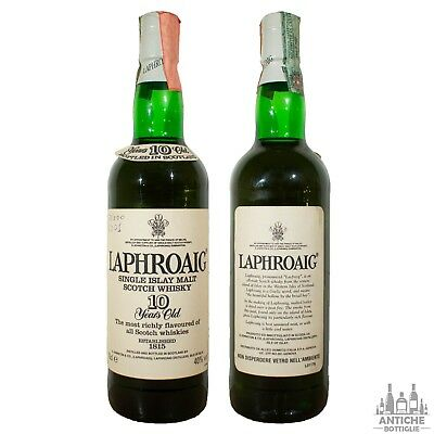 Laphroaig Single Islay Malt Scotch Whisky 10 Years Old 70 Cl 40°