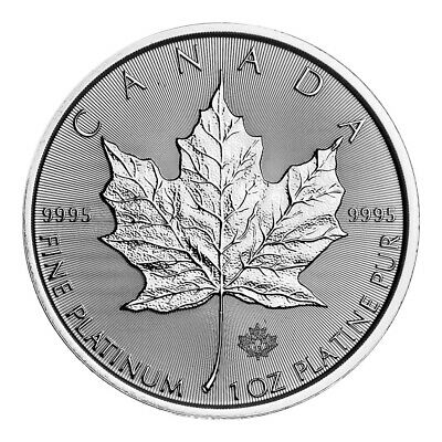 1 oz 2019 Canadian Maple Leaf Platinum Coin