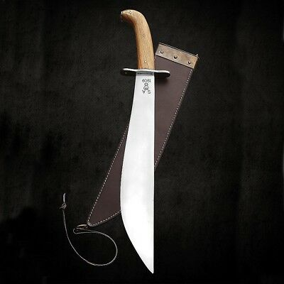 Official Windlass Steelcraft - US 1909 Bolo Machete & Leather Sheath