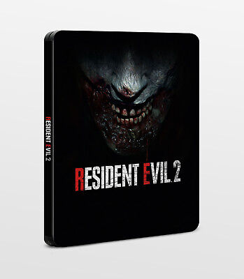 Resident Evil 2 Remake G2 Steelbook | PC Playstation 4 PS4 Xbox One X1 | NEU