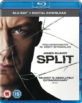 Split (with Digital Copy) [Blu-ray] James McAvoy 5053083109523