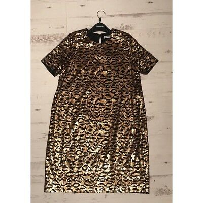 BY MALENE BIRGER Snakeskin Animal Print Fitted Stretchy Long Sleeve ... 9eebfd77e