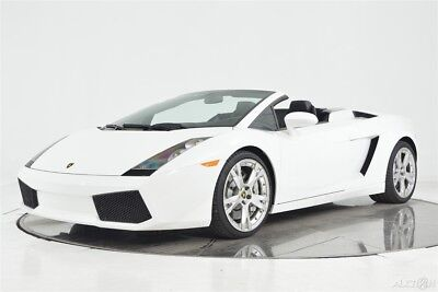 2008 Lamborghini Gallardo Spyder E-Gear Full Electric Heated Callisto Camera Unicolor Sportive Branding Bluetooth Lifter
