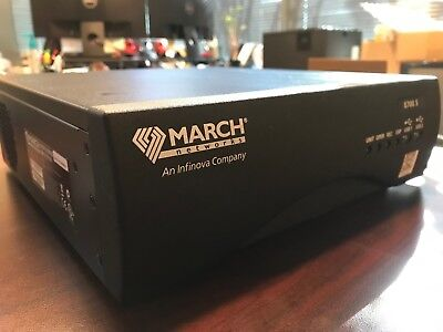 March Networks Hybrid NVR 8CH Model 8708 S 2X2TB 28570-102 30FPS