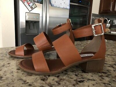 2b48dada702 STEVE MADDEN DALY Brown Womens Shoes Size 8 M Sandals MSRP $79 ...