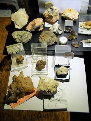 Collection Of Mineral Specimens @ No Reserve Collection #2 Over 20 Plus Look!!!!