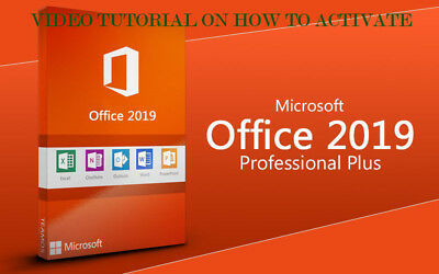 Microsoft Office 2019 Professional Plus PC only Activation Tutorial NO KEY