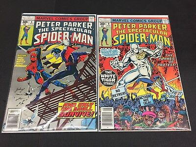 Marvel Comics Peter Parker The Spectacular Spider-Man Issue #8 & 9