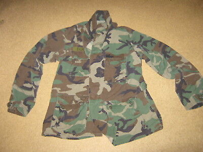 Original US Feldhemd Gr. large long  woodland Army Air Force Hemd Jacke BDU