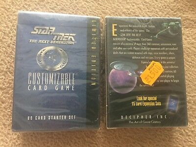 STAR TREK THE NEXT GENERATION STARTREK LIMITED EDITION MAZO PRECINTADO card game
