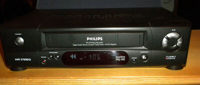 Vhs Video Recorder Philips Vr 510
