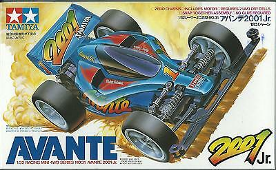 Tamiya 1:32 Mini 4Wd  Avante 2001 Junior  Con Motore With Motor   Art 18031