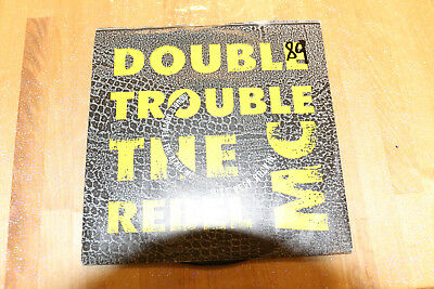 double trouble and the rebel m c - just keep rockin'   45t