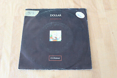 dollar - o l'amour   45t