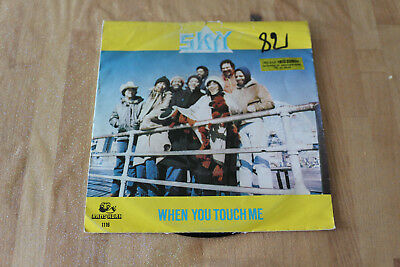 skyy - when you touch me   45t