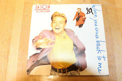 jason donovan - when you come back to me   45t