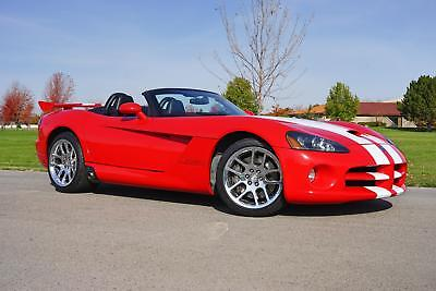 2003 Dodge Viper SRT-10 2003 Dodge Viper SRT-10 29,520 Miles Viper Red Convertible 10 Cylinder Engine 8.