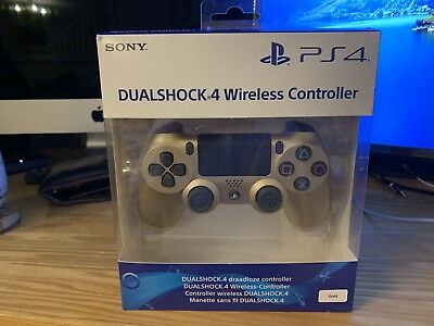 Sony DualShock 4 Wireless Controller V2 for PlayStation 4 - Gold