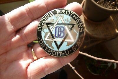 Jewish Star of David on a Dodge Brothers car emblem very old